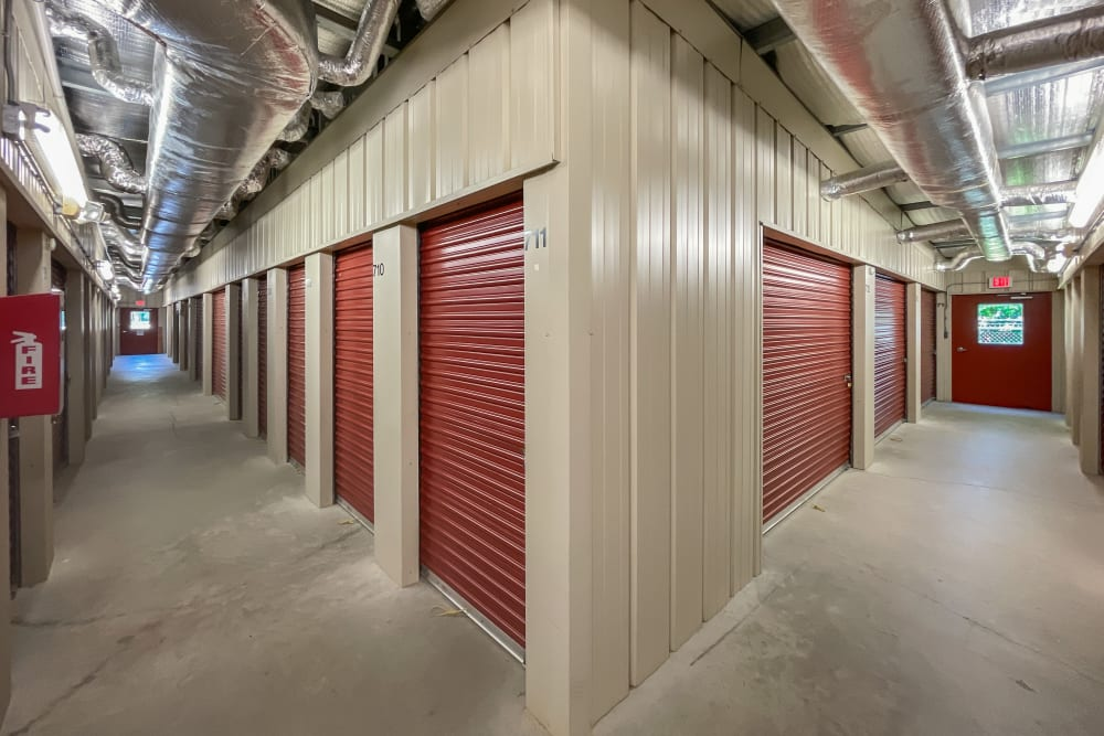 Climate-controlled storage units at Victory Personal Storage in Yorktown, Virginia