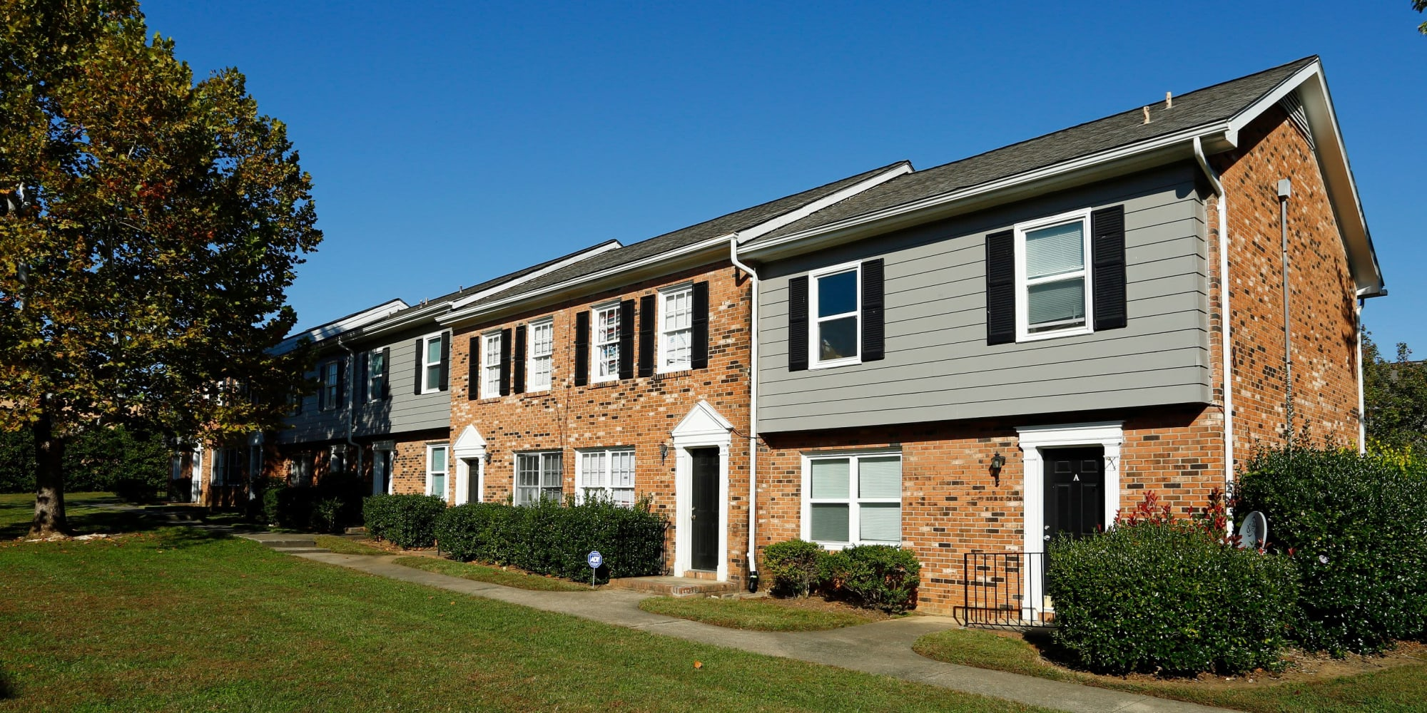 Townhomes at Rippling Stream Townhomes in Durham, North Carolina