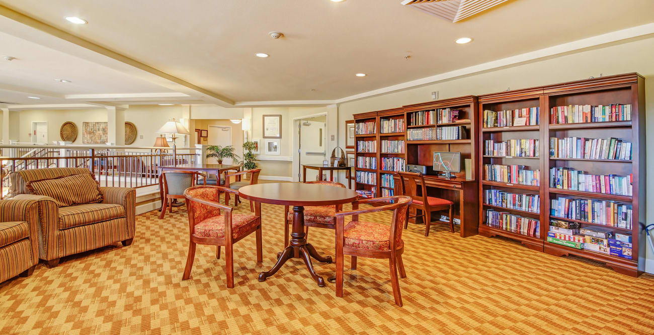 Library at The Commons at Union Ranch in Manteca, California