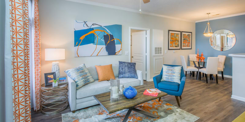 View virtual tour for 2 bedroom 2 bathroom unit at The Avant at Steele Creek in Charlotte, North Carolina