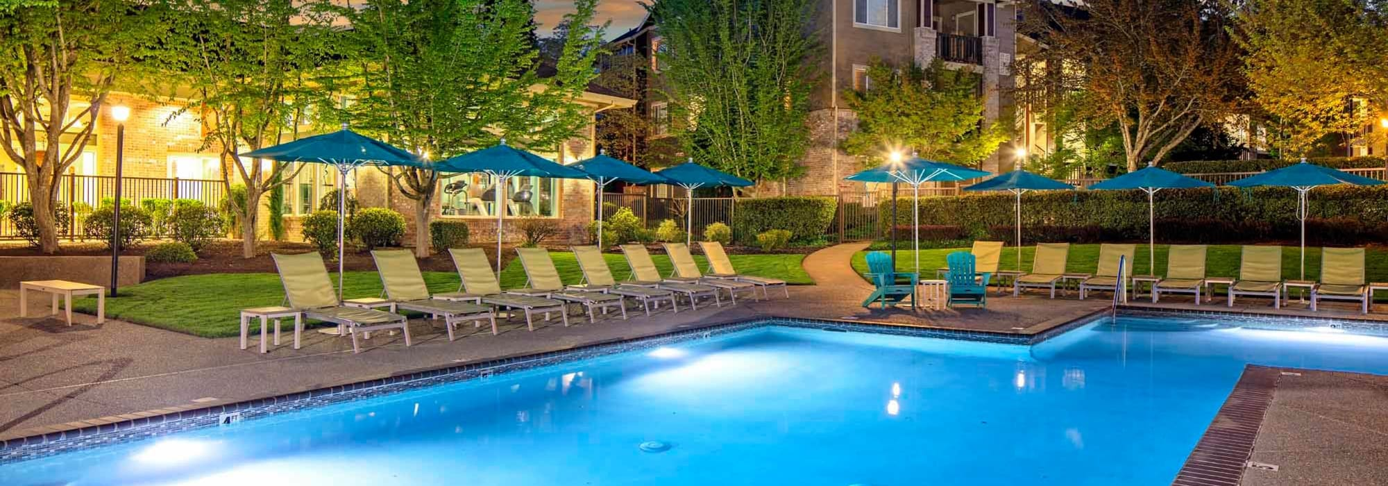 Amenities at The Grove at Orenco Station in Hillsboro, Oregon