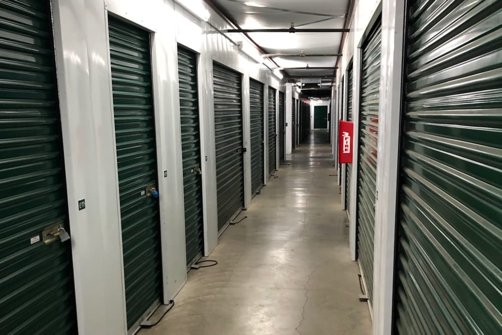 Climate controlled storage units at Storage Star Vacaville in Vacaville, California