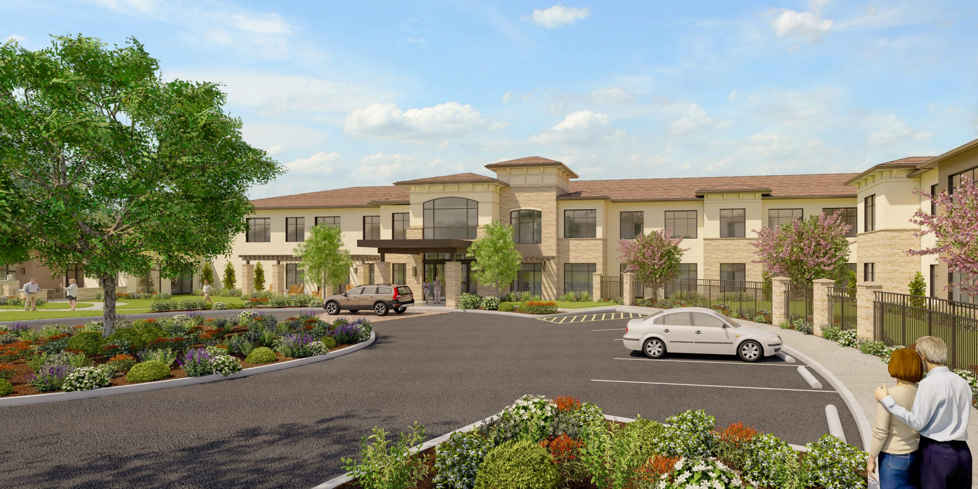 Senior living at Carefield Living West Sacramento in West Sacramento, California.