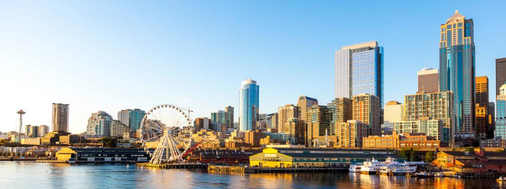 Seattle's iconic skyline.