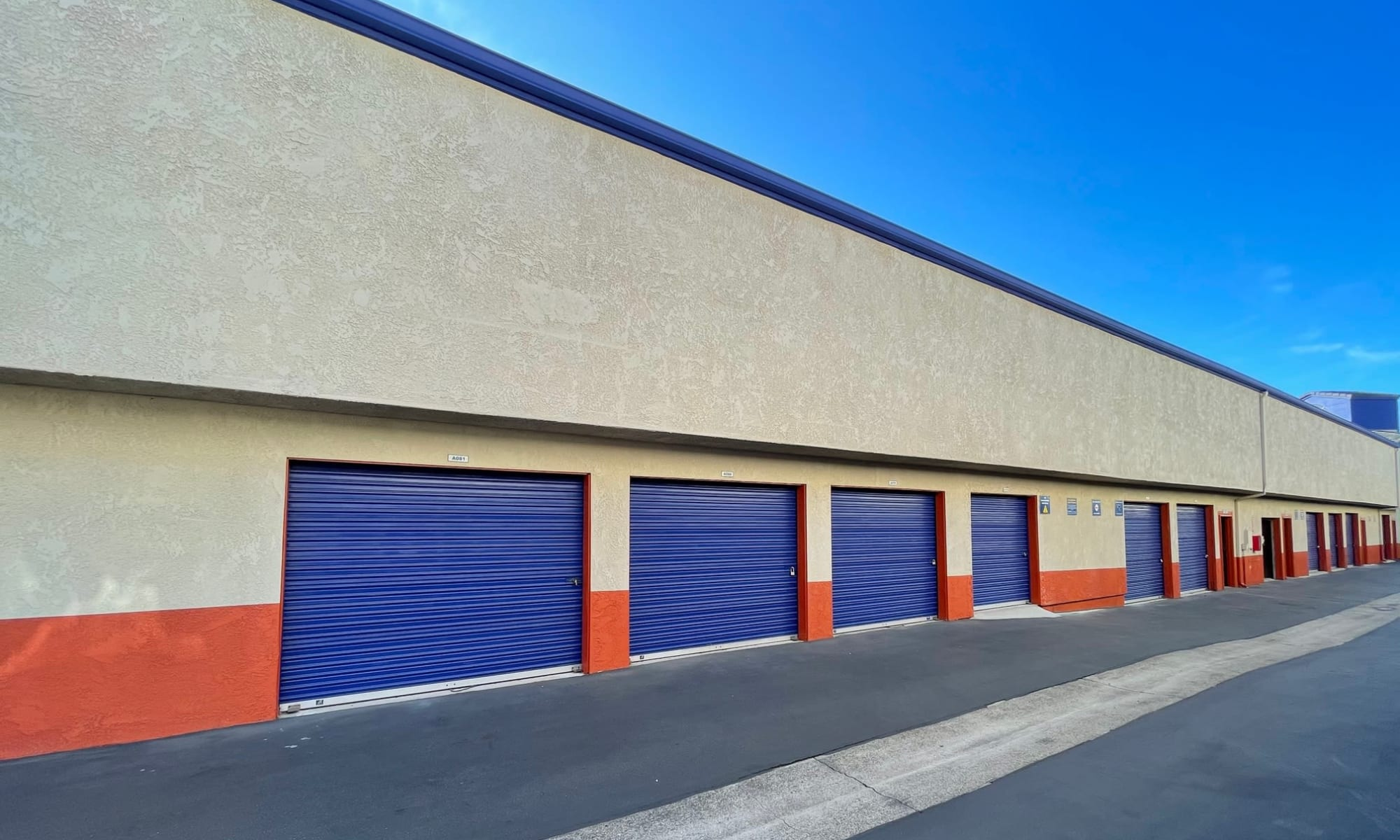 Self storage in Capistrano Beach California