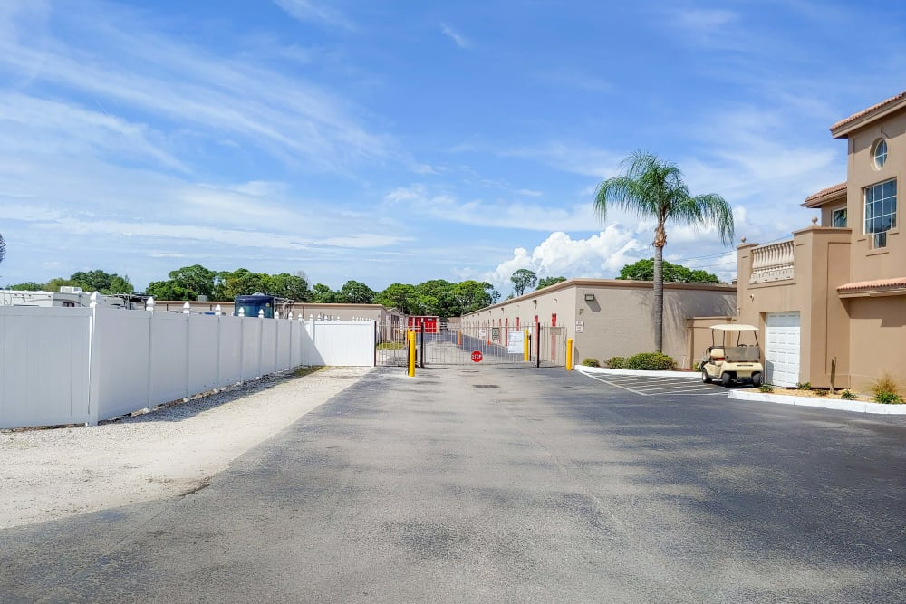 Facility entrance at StorQuest Self Storage in Bradenton, FL