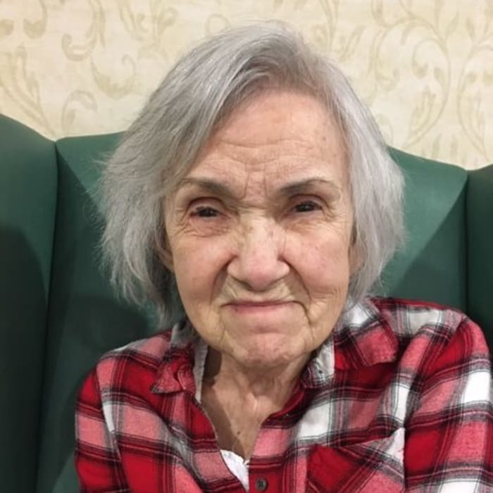 Shirley F March resident of the Month