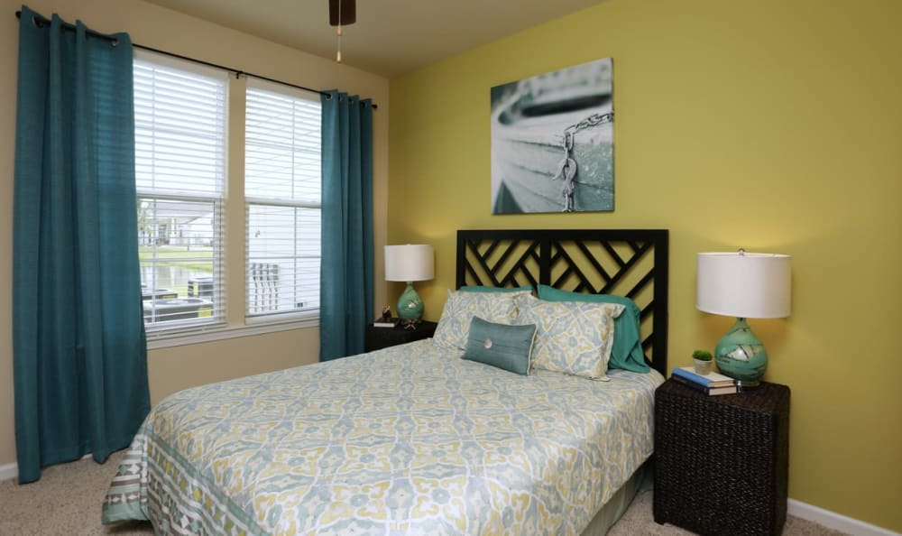 Master Bedroom at Springs at Six Mile Cypressin Fort Myers