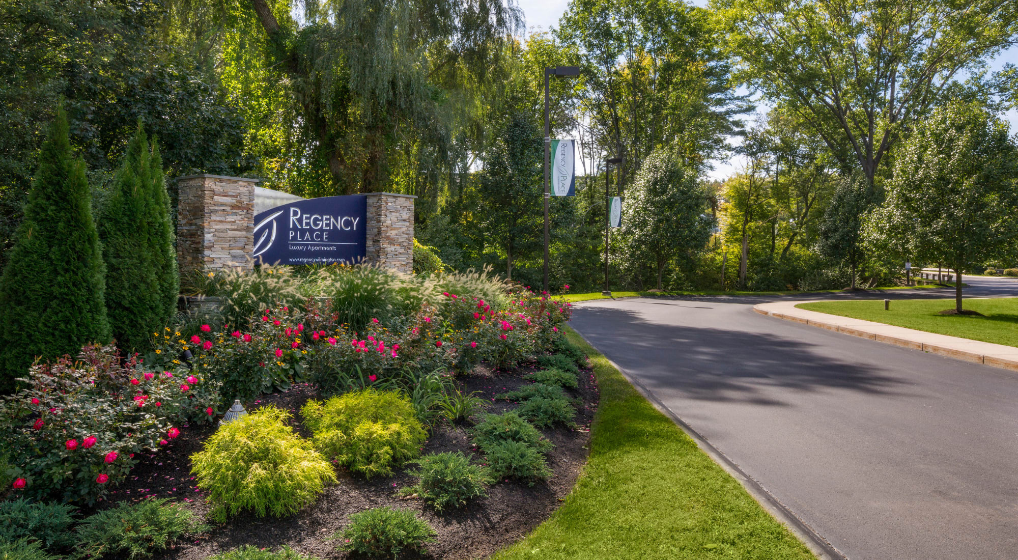 Pet-friendly apartments at Regency Place in Wilmington, Massachusetts