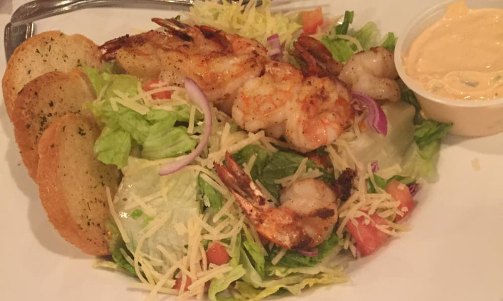 Shrimp salad at Azalea Estates of Gonzales in Gonzales, LA