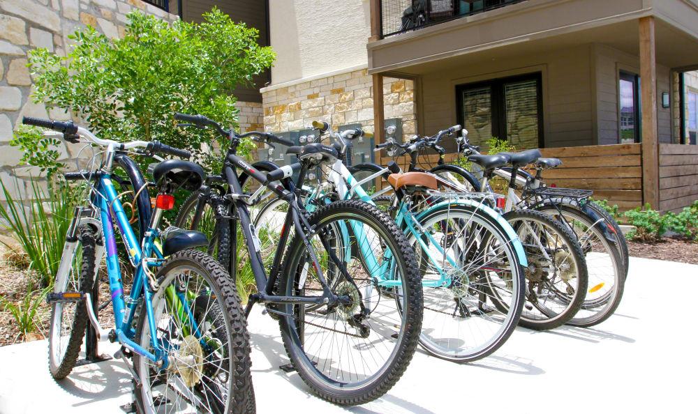 Bikes at Axis at The Rim
