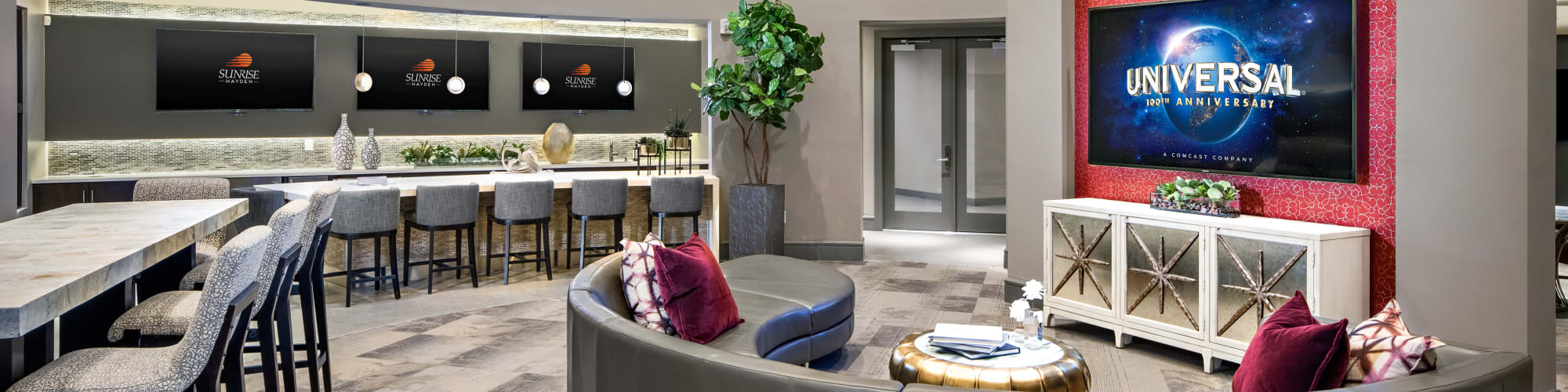 Amenities at The Core Scottsdale in Scottsdale, Arizona