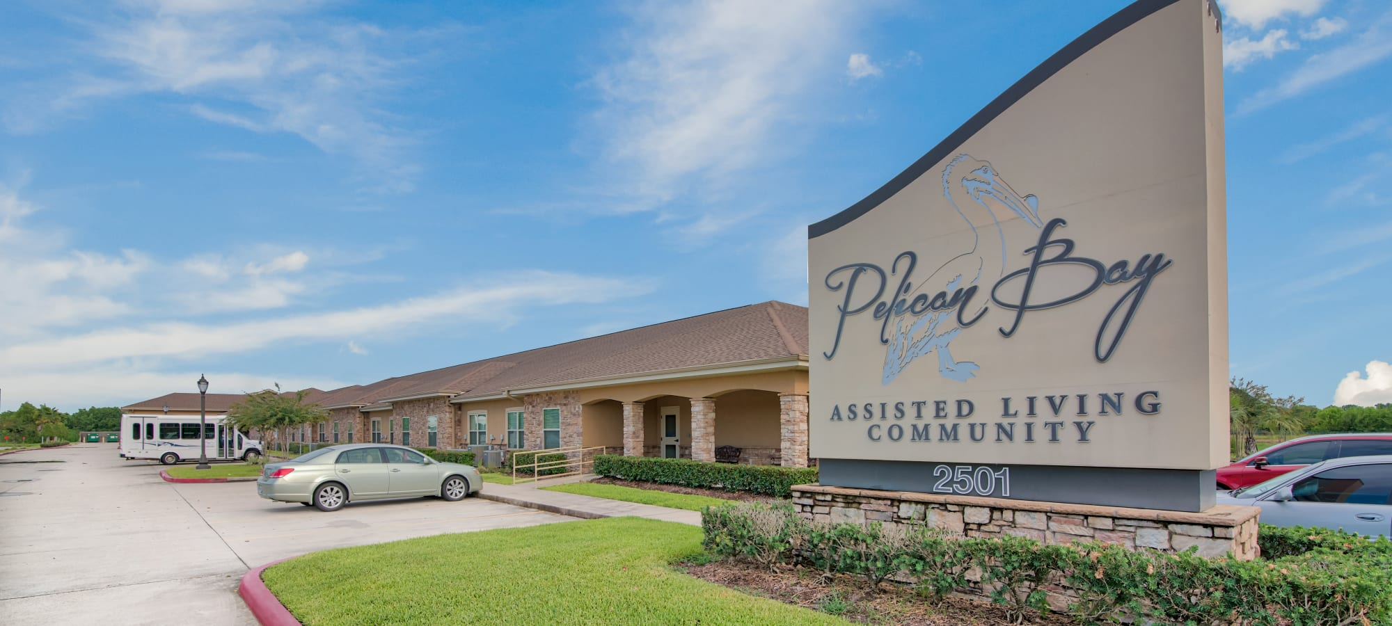 Senior living at Pelican Bay in Beaumont, Texas