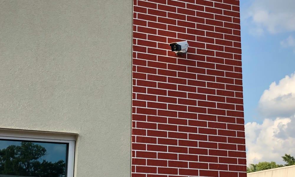 Camera surveillance at AAA Self Storage in Greensboro, NC