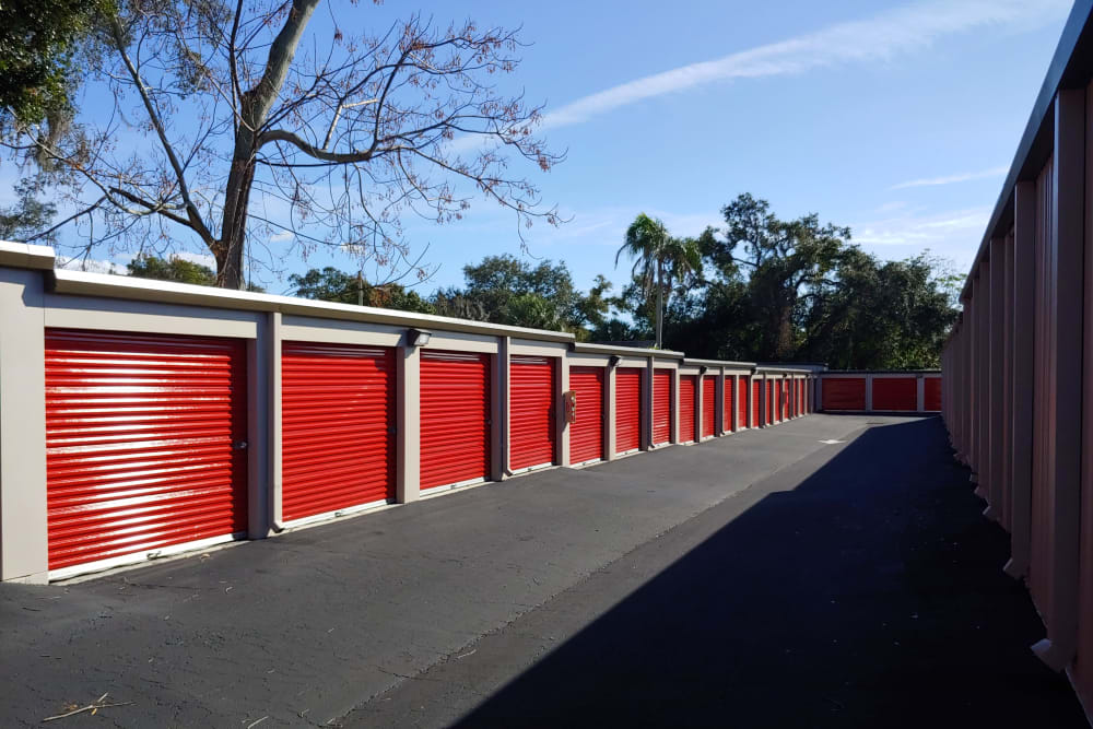 Security feature at StorQuest Self Storage in Clearwater, Florida