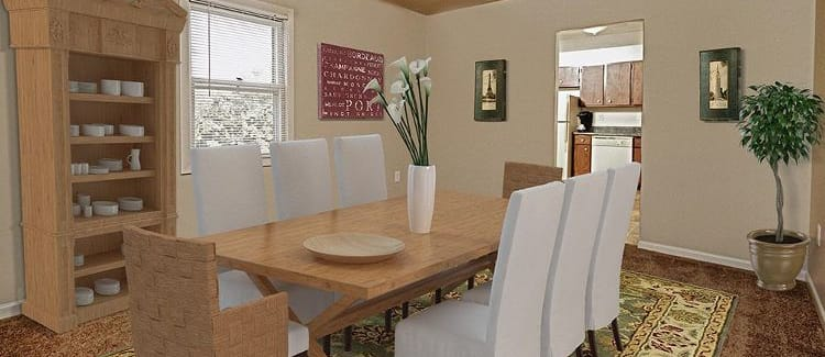 Dining room at The Village of Laurel Ridge in Harrisburg, Pennsylvania