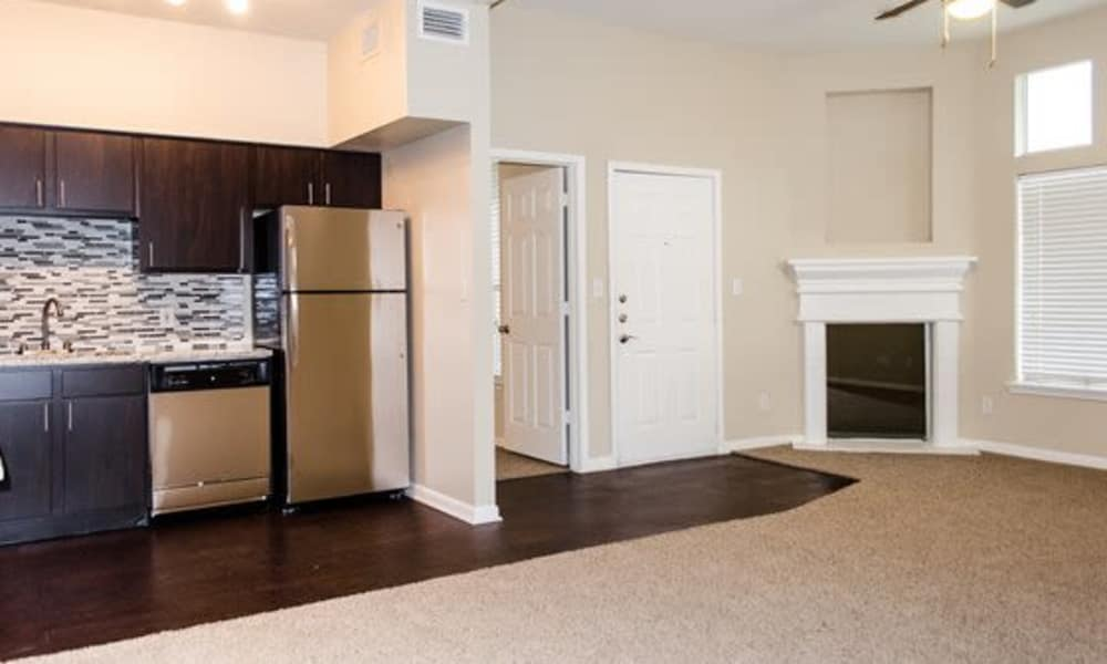 Apartment interior at Station at Mason Creek in Katy, Texas