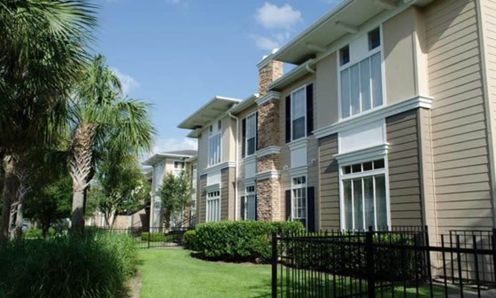Apartments exterior view at Station at Mason Creek in Katy, Texas