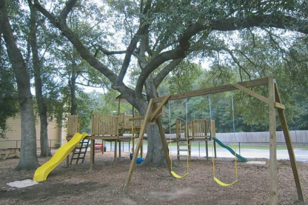 Playground at Park West in Mobile, Alabama