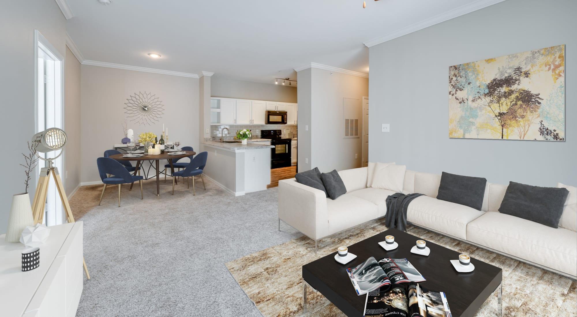 Morrisville apartments in North Carolina at Preston View