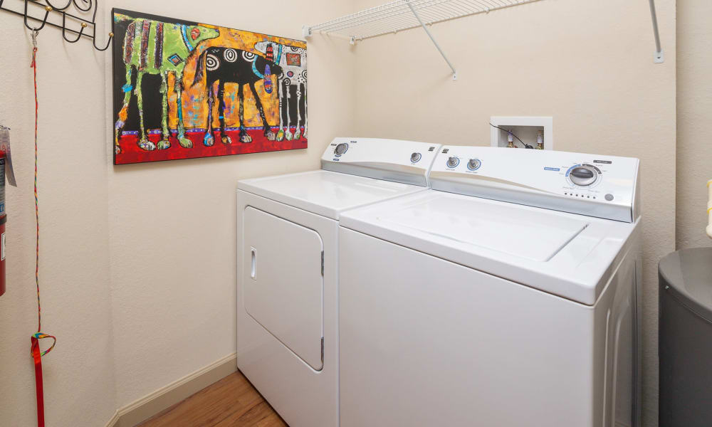 Newly updated washer/dryer in our Clermont, Florida apartments