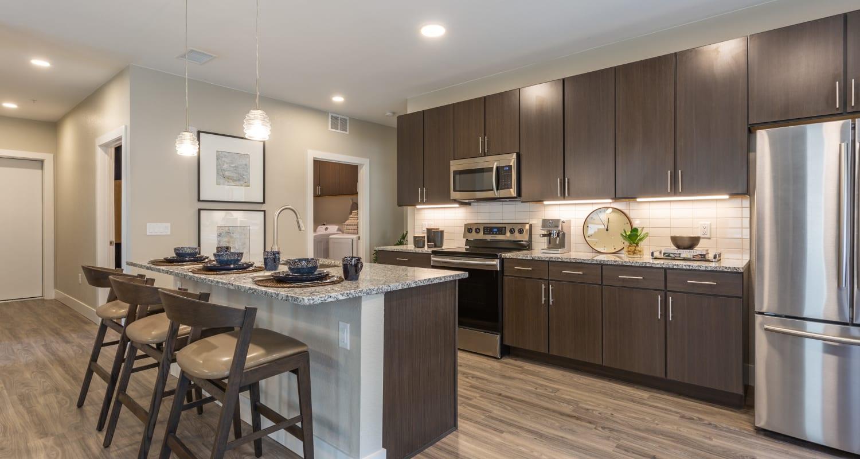 Beautiful kitchen at FalconView in Colorado Springs, Colorado