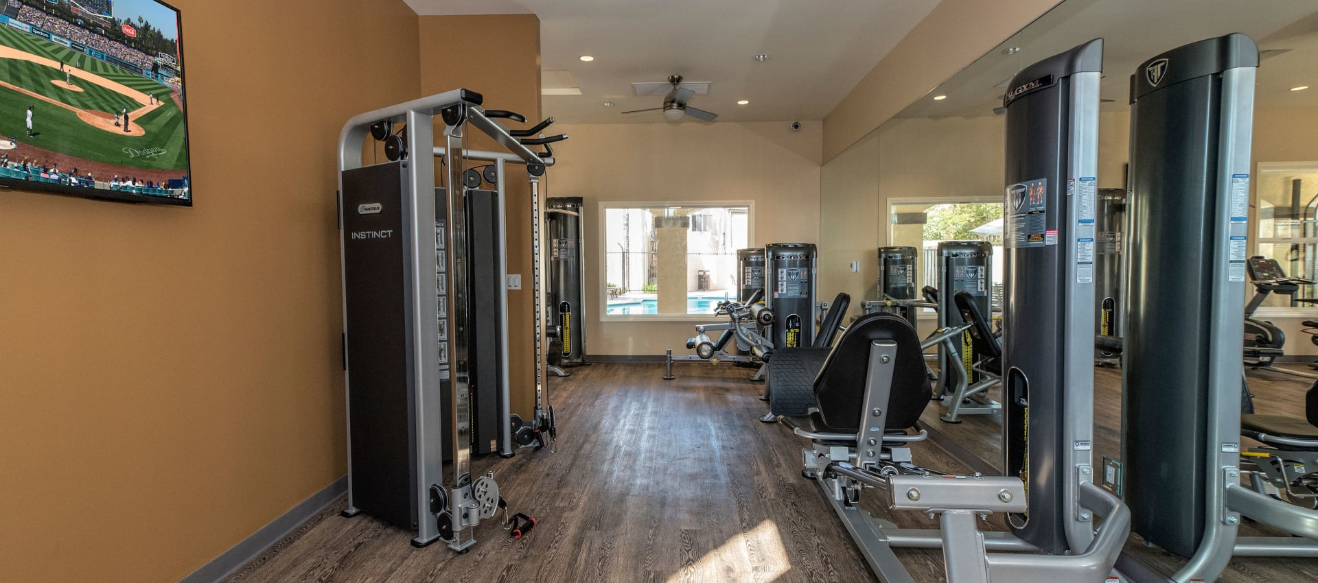 24-Hour Fitness Center at Shadow Ridge Apartment Homes in Simi Valley