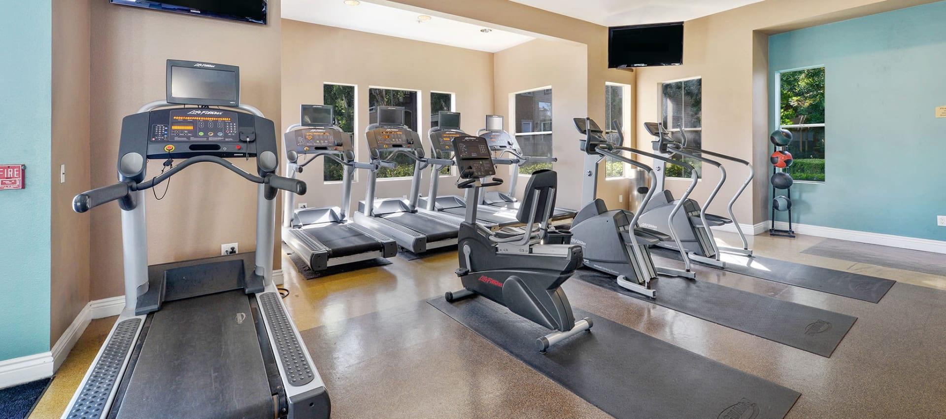 Fitness Center at Rosewalk in San Jose