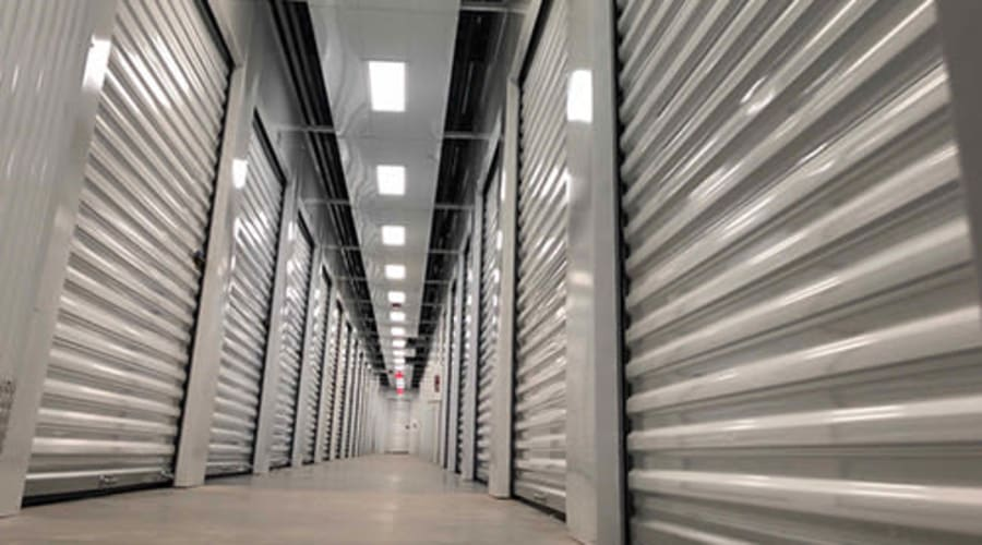 Temperature controlled storage available at Monster Self Storage in Warner Robins, Georgia