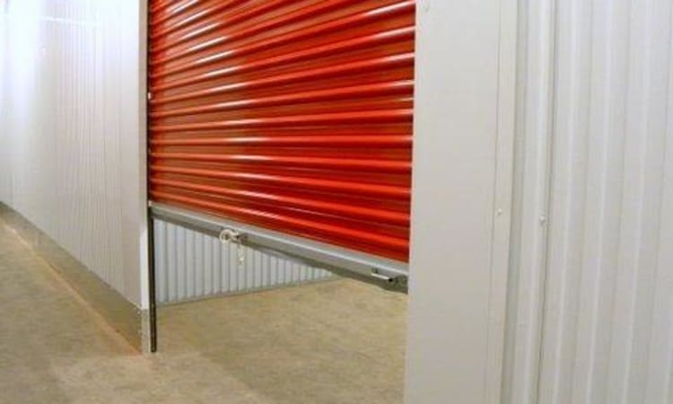 Roll up doors at The Storage Bunker in Medford, Massachusetts