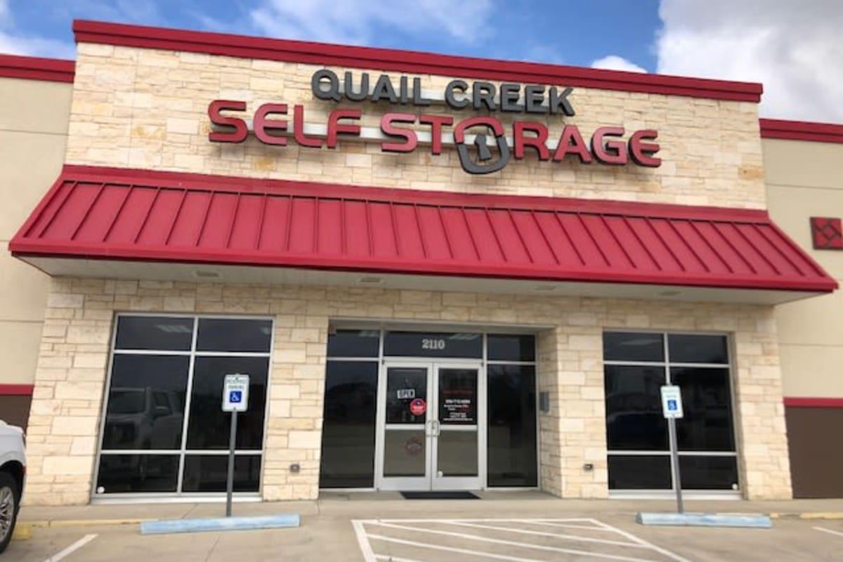 The front office at Storage Star Laredo in Laredo, Texas