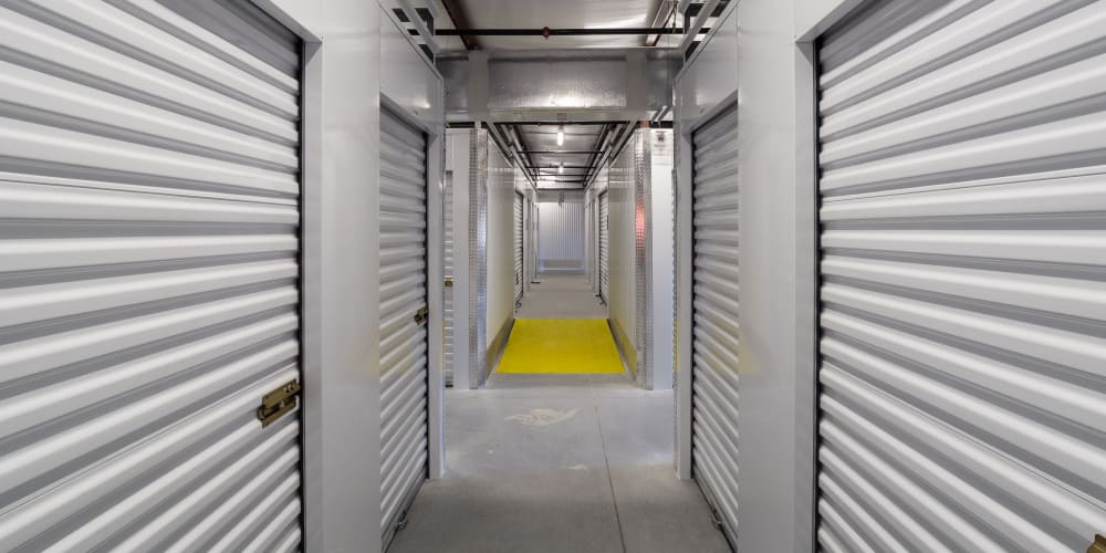 Indoor climate controlled units at StorQuest Express - Self Service Storage in Deltona, Florida