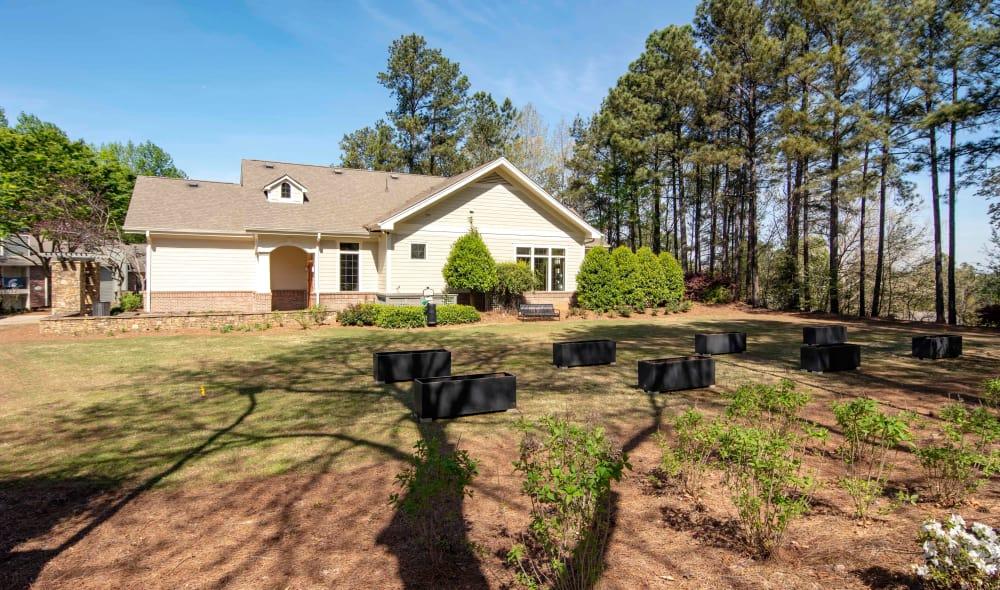 Exterior view of The Residences at Vinings Mountain in Atlanta, GA