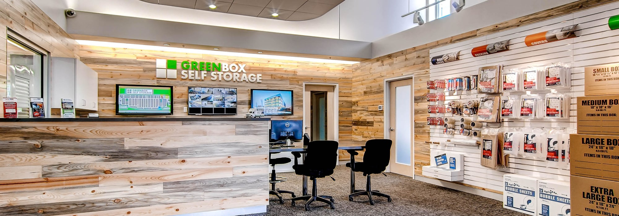 Office at Greenbox Self Storage in Denver, CO