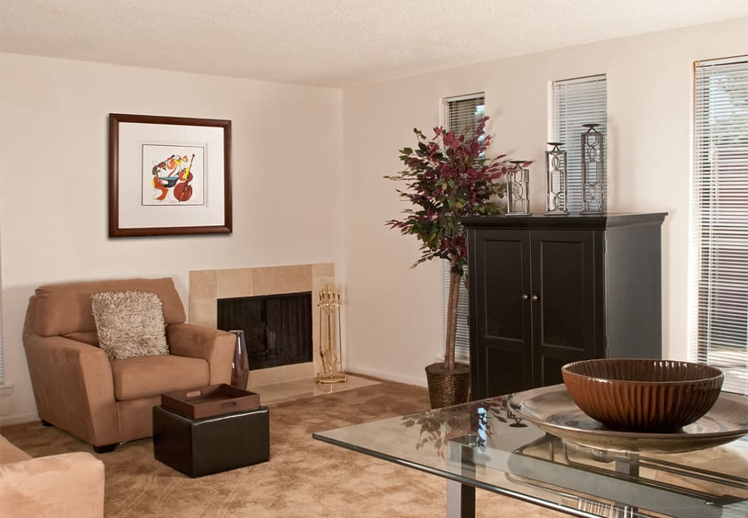 Living room at Pine Ridge in Lindenwold, New Jersey