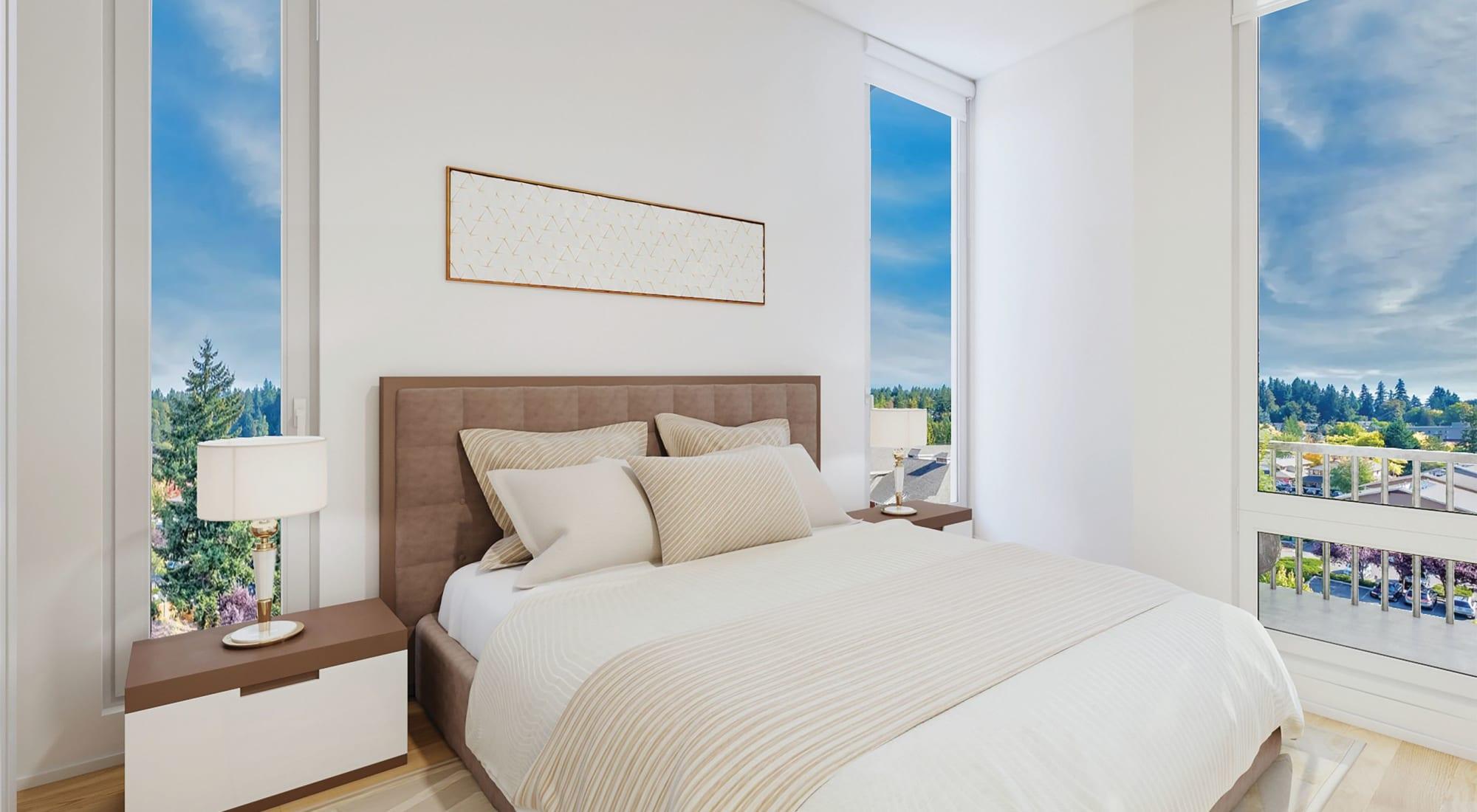 Bedroom at Blackbird in Redmond, WA