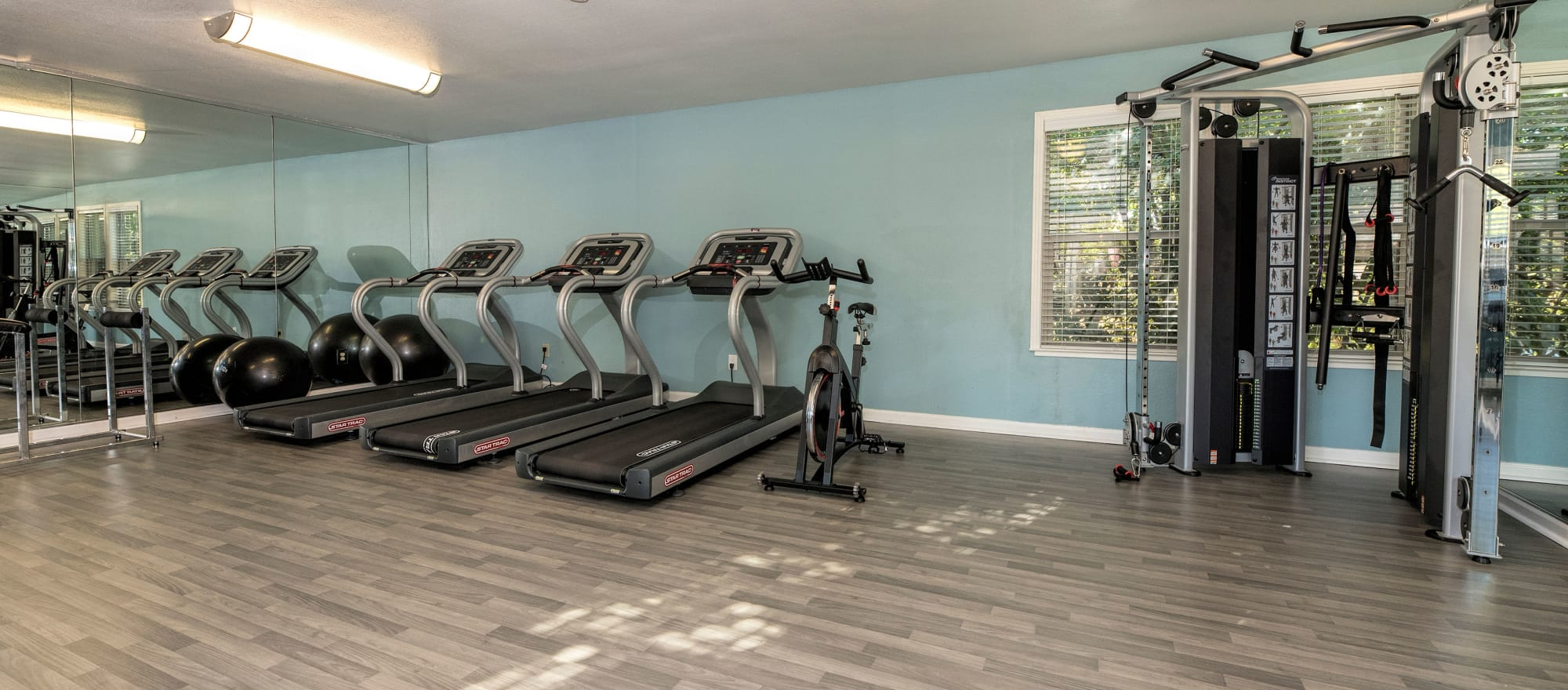 Gym at Sterling Heights Apartment Homes in Benicia, California