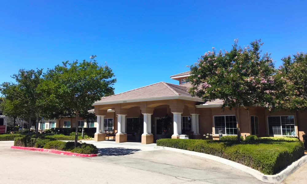Exterior view at Wildwood Canyon Villa Assisted Living and Memory Care in Yucaipa, California
