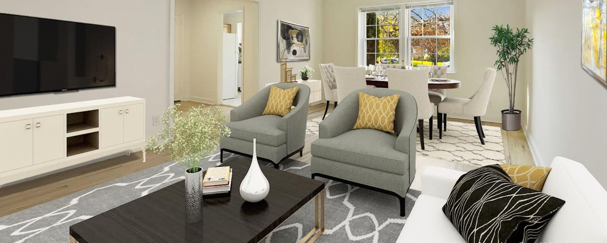 Floor plans at Mayflower Apartments in Ridgewood, New Jersey