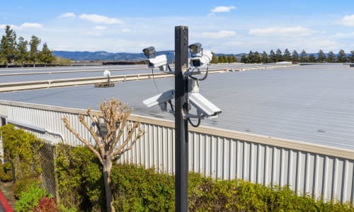 We feature Security Cameras at our storage facility in Sonoma, California