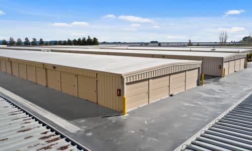 Exterior Storage Units at Carneros Self Storage Park in Sonoma, California