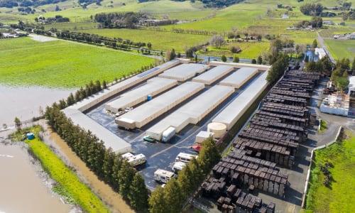 Aerial View of Carneros Self Storage Park in Sonoma, California