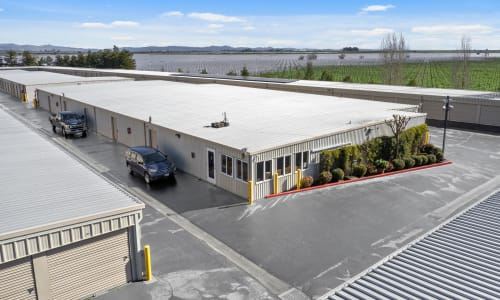 Front Office of storage units in Sonoma, California