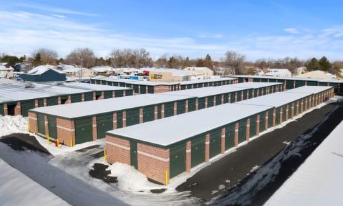 Storage Star West Valley in West Valley, Utah Exterior Storage Units