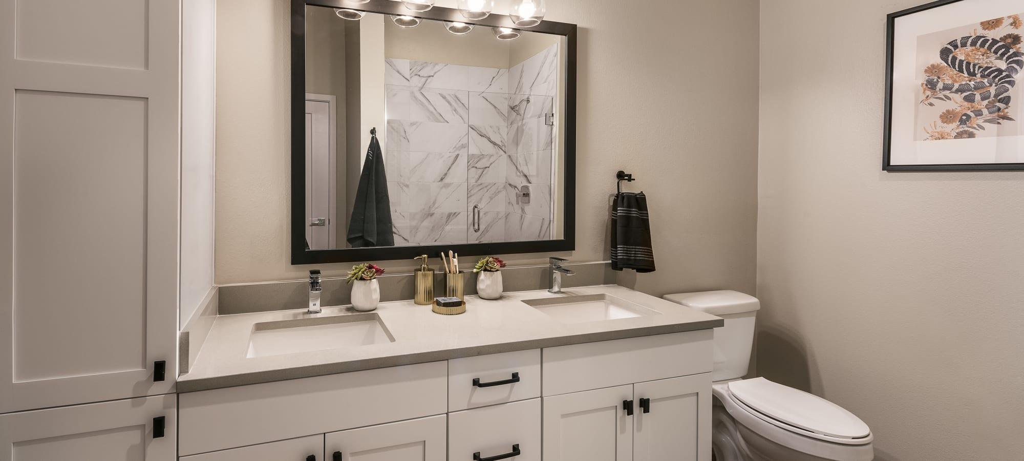 Master bathroom at Gramercy Scottsdale in Scottsdale, Arizona
