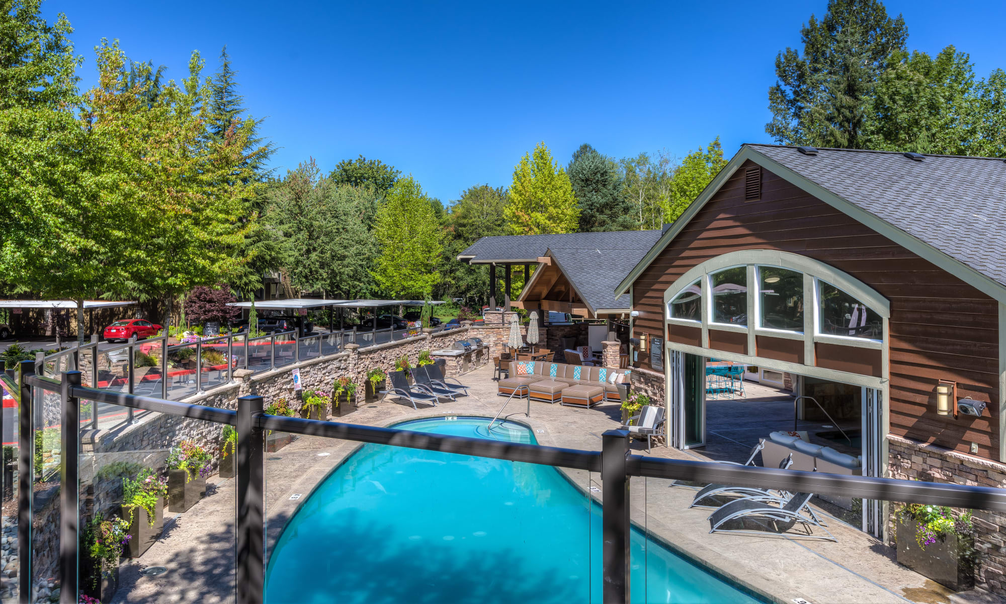 Apartments at The Preserve at Forbes Creek in Kirkland, Washington