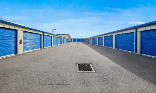 Storage facility Exterior Storage Units at Storage Star