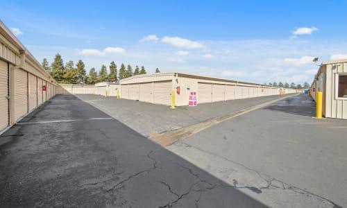 Storage facility Exterior Storage Units at Carneros Self Storage Park