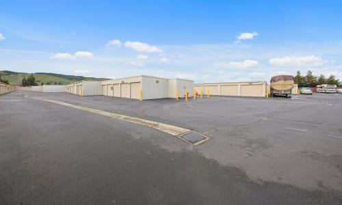 Carneros Self Storage Park features Exterior Storage Units in Sonoma, California