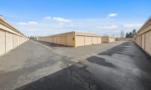Sonoma, California storage facility Exterior Storage Units